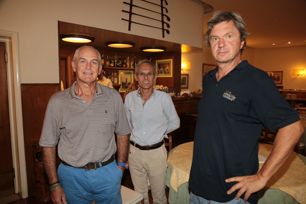 Corrado Manfredotti, Giuseppe Pollastri, Massimo Mazzanti