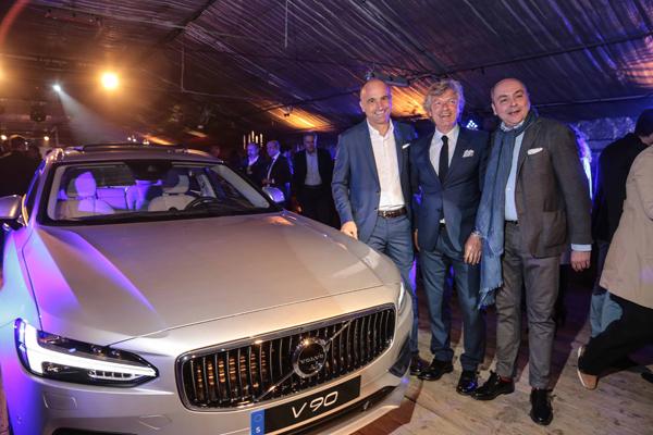 Alberto Peragnoli, Giancalro Antognoni e Simon Pagnini