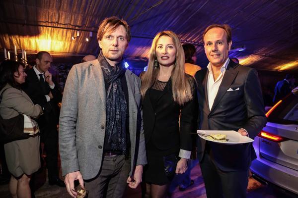Duccio Chelazzi, Carlotta Romualdo e Mario Tenerani