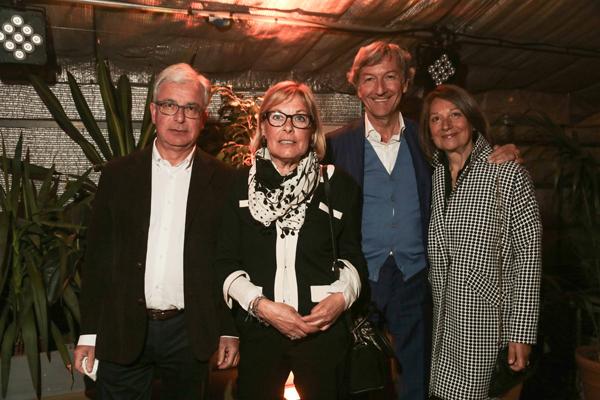 Andrea Regini, Mariangela Carpignani, Alessandro Lazzeri e Franca Mazzoni