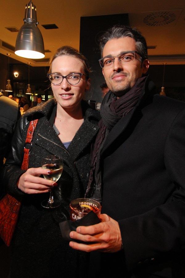 Claudia Morelli, Fabio Lugana