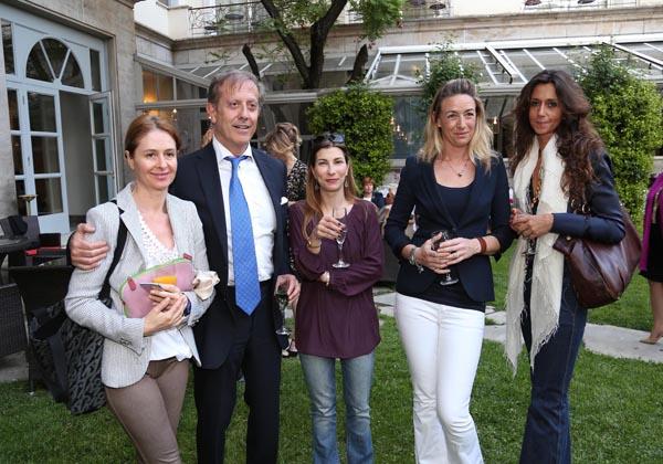 Moreschina Fabbricotti, Francesca Morgantini, Dianora Guicciardini, Simona Chiessi, Gaetano Torino