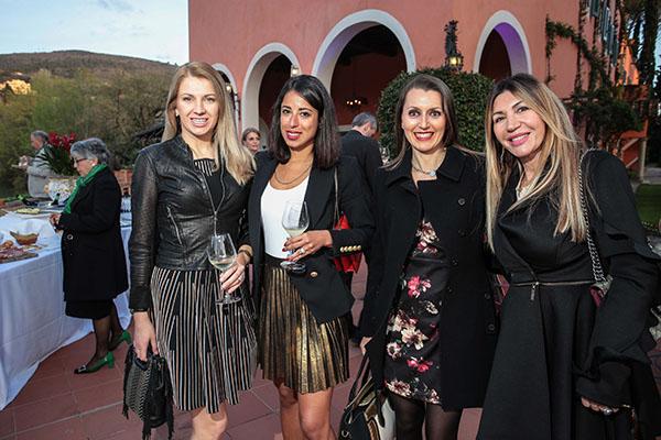 Marta Licata, Shadi Yousefsadeh, Alessandra Campagna, Gianna Fontani