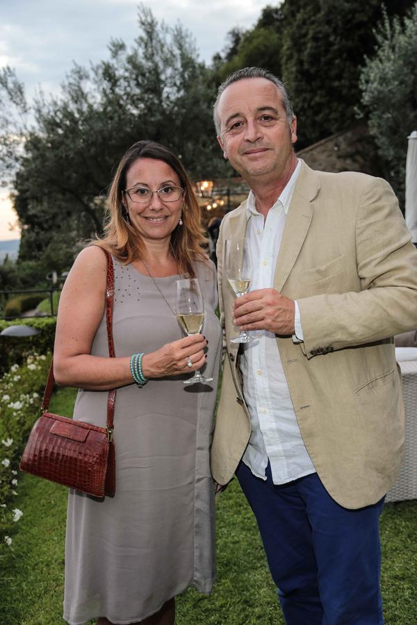 Carlotta Dini e Stefano Farnetani