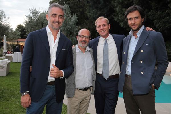 Mateo Parigi Bini, Giovanni Leone, Aaron Kaupp, Alex Lana