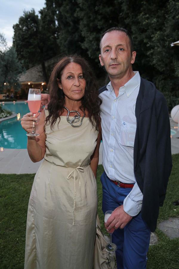Paola Del Santo, Gianni Cesari