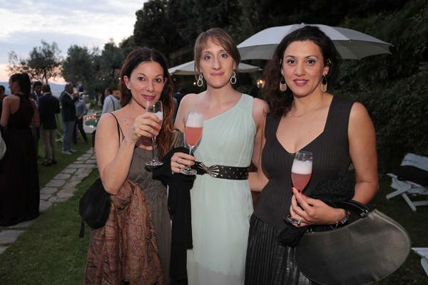 Gaia Pratesi, Elena Amodeie, Catherine Burnett