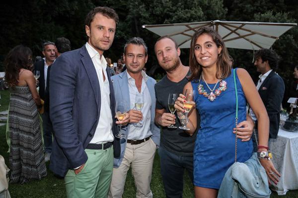 Giulio Torrini, Enzo Cantinelli, Pietro Lai, Giulia Carnesecchi