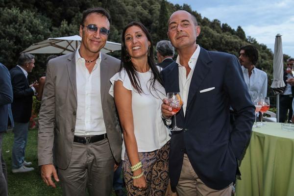 Matteo Cioni, Leonardo e Paola Lampredi