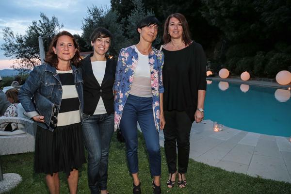 Ilaria Tolossi, Sonia Becattini, Stella Mughini, Elisabetta Failla