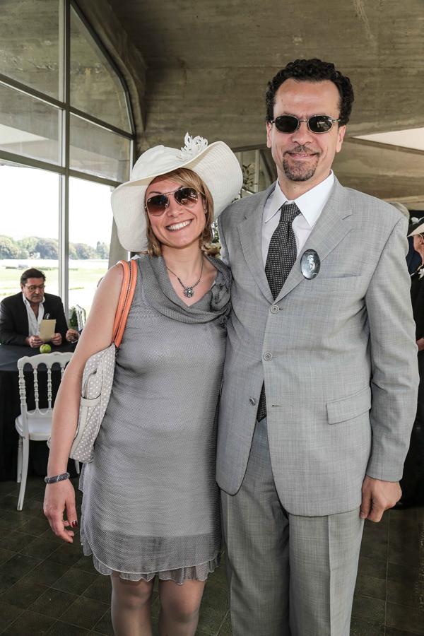 Claudia and Simone Forni