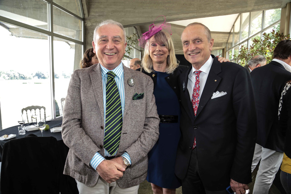 Mario and Evelyn Razzanelli, Massimo Ruffilli