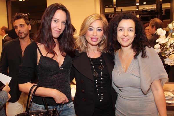 PRESSPHOTO. Firenze, Ermenegildo Zegna. Nella foto Marta Jorio, Simona Naldini, Paola Machetti Giuseppe Cabras/New Press Photo