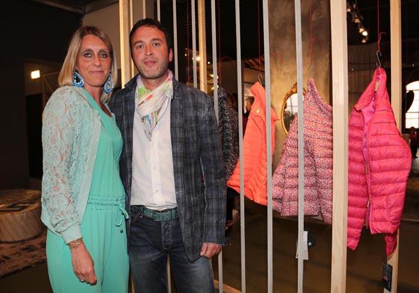 Francesca and Enrico Zaniol