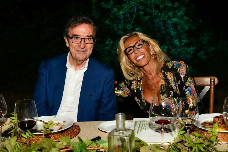 Riccardo Cotarella, Maria Fittipaldi Menarini