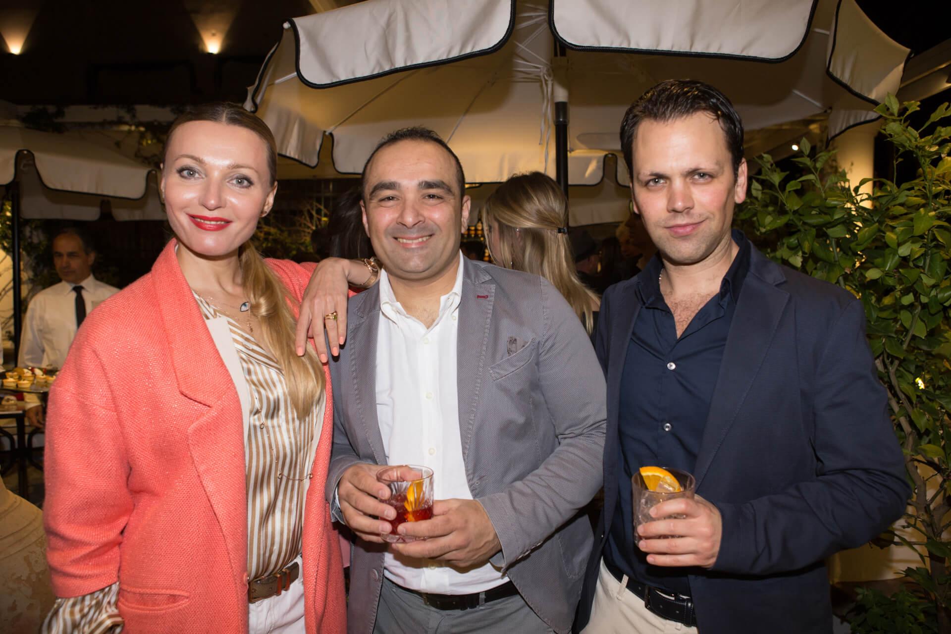 Natasha Boiarciuc, Giovanni Monti, Giuseppe Greco
