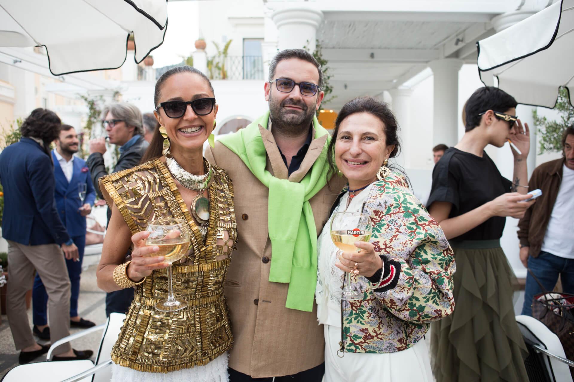Luna de Casanova, Fabio Filippi, Maria Elena Aprea