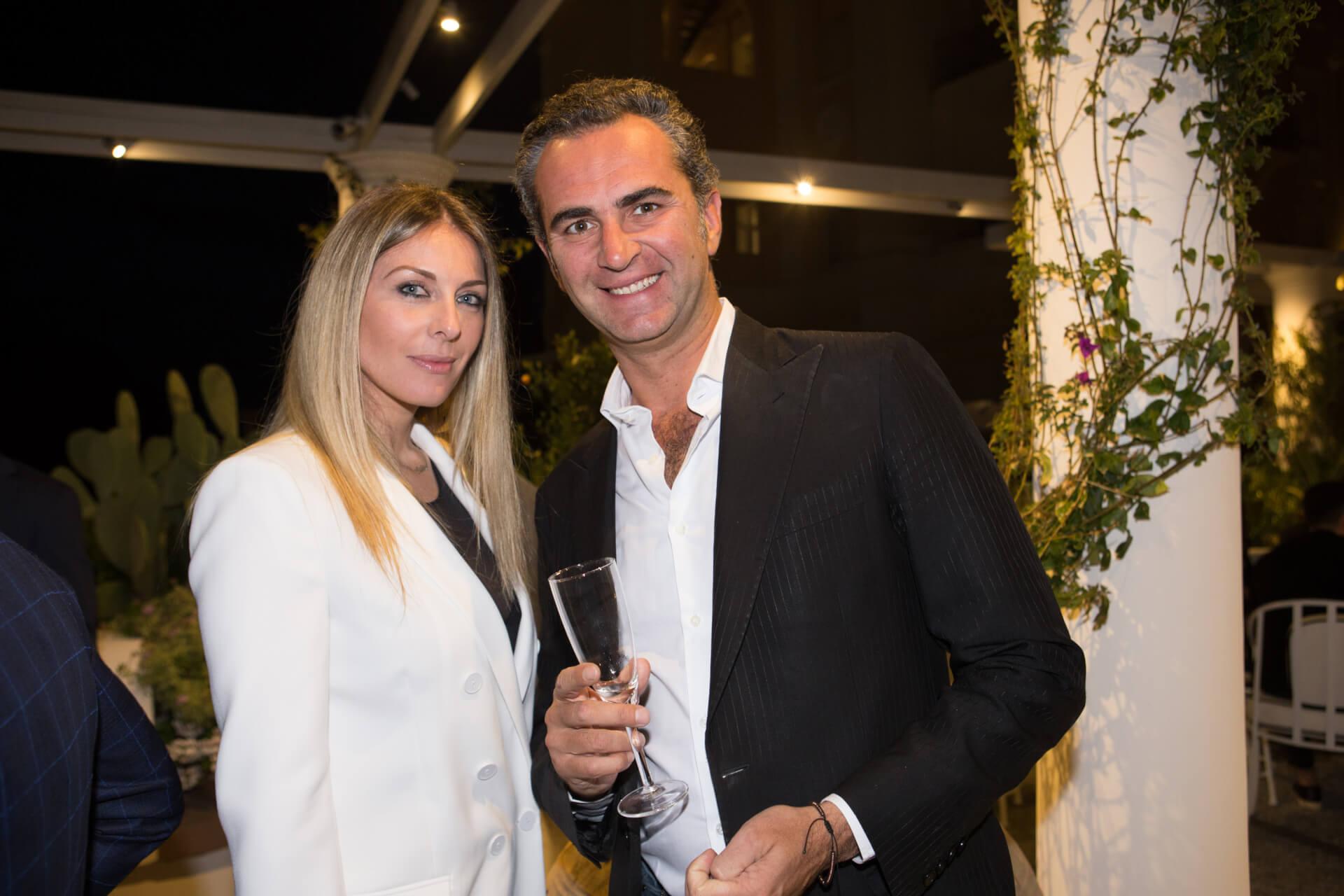 Sabine Ambrosetti, Luca Guarnieri