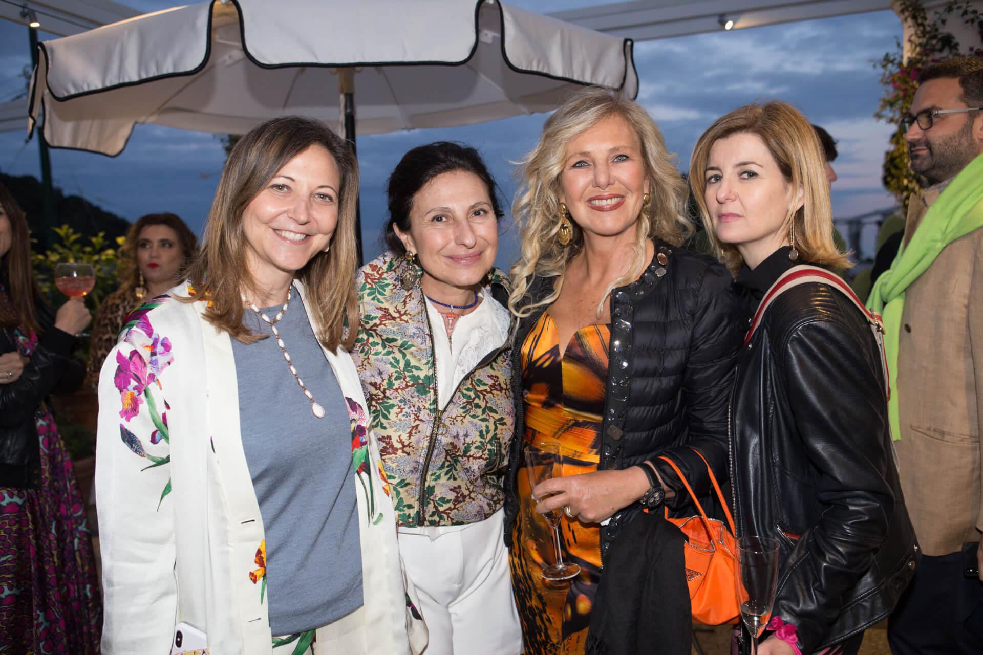 Elena Aceto di Capriglia, Maria Elena Aprea, Diana Palomba, Katjia Rossi