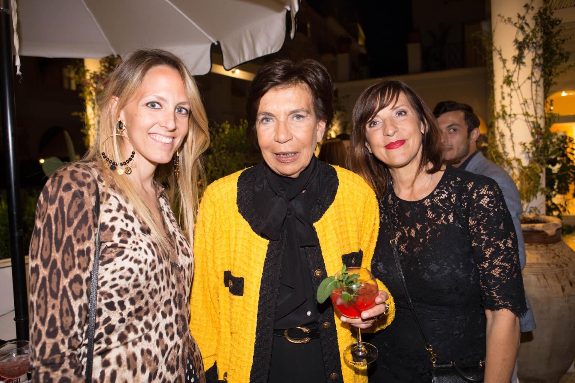 Marta Capelli, Cettina Caputo, Fabiana Giacom
