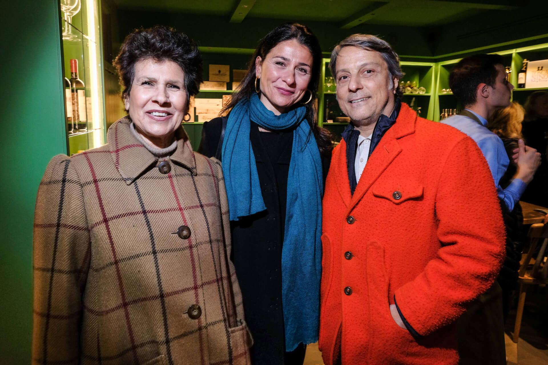 Ninni Frugis, Rossella and Lorenzo Barducci