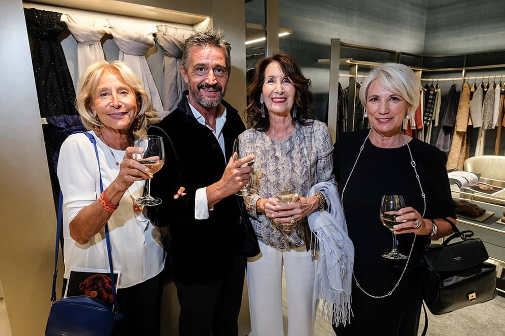 Wally Romoli, Santino D'Antoni, Eugenia D'Amelio, Nadia Cricelli