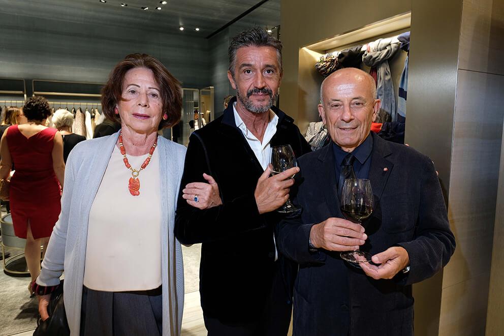 Federico and Adriana Freudiani, Santino D'Antoni