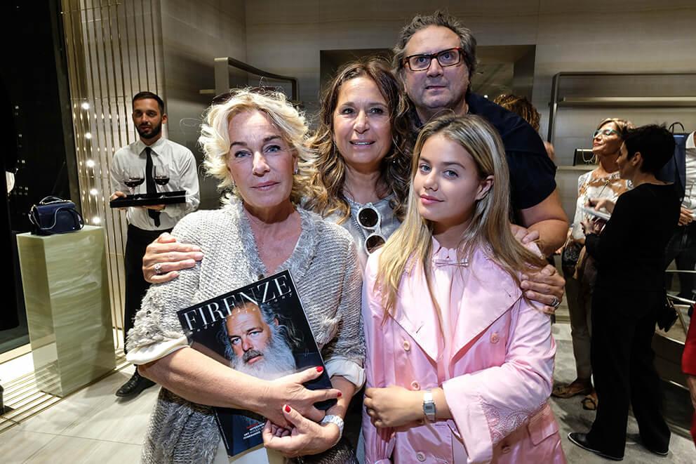 Giovanna and Benedetta Banci, Luca e Cristina Gori