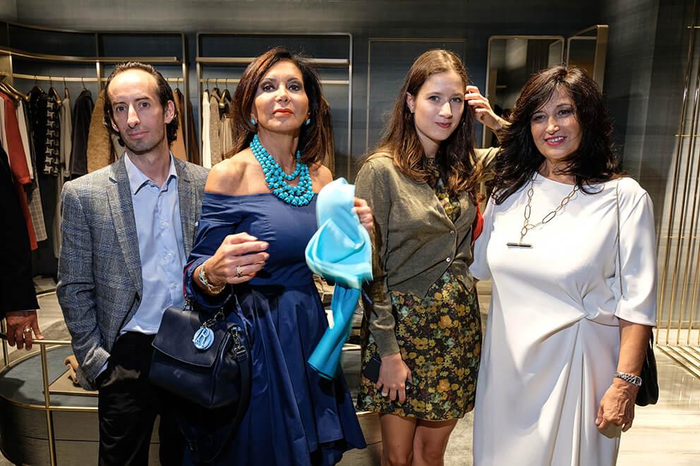 Carlo Mandirolo, Francesca Macolino, Maria Teresa Manetti, Anna Teresa Giugni