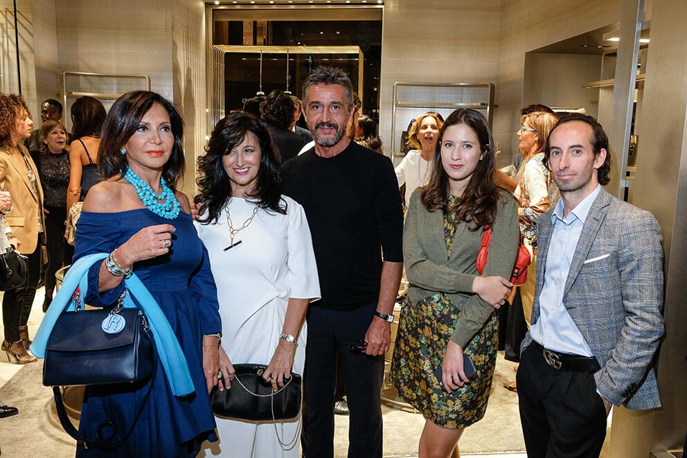 Francesca Macolino, Maria Teresa Manetti, Carlo Mandirolo, Anna Teresa Giugni, Santino D'Antoni
