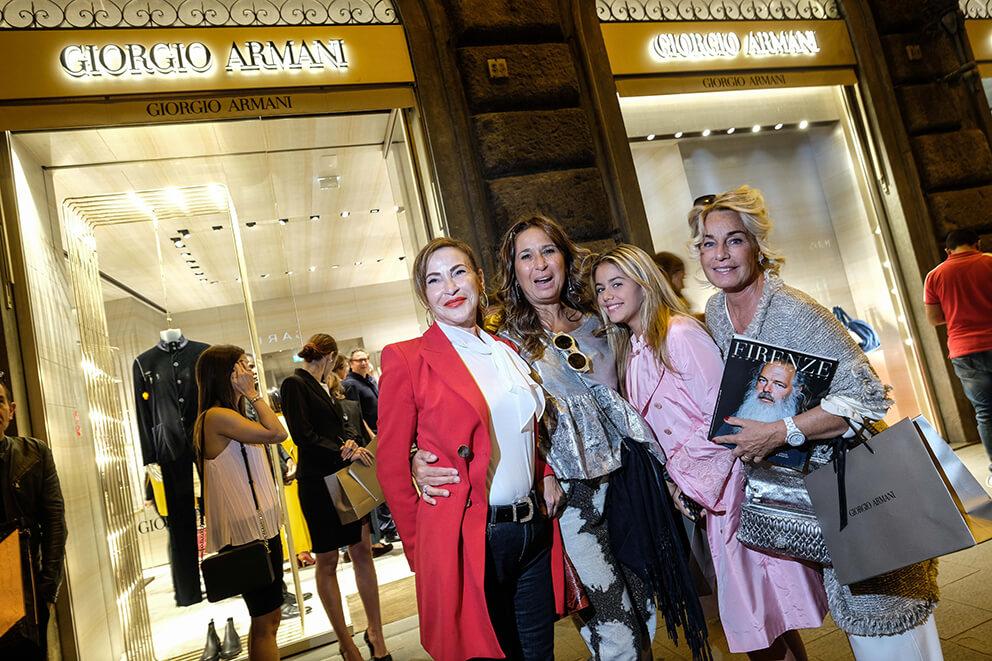 Cristina Casamassimi, Cristina Gori, Benedetta, Giovanna Banci