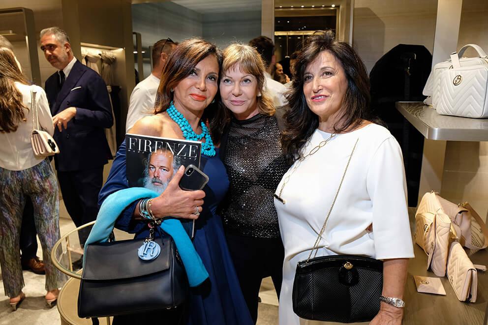 Francesca Macolino , Cristina Camerani e Anna Teresa Giugni