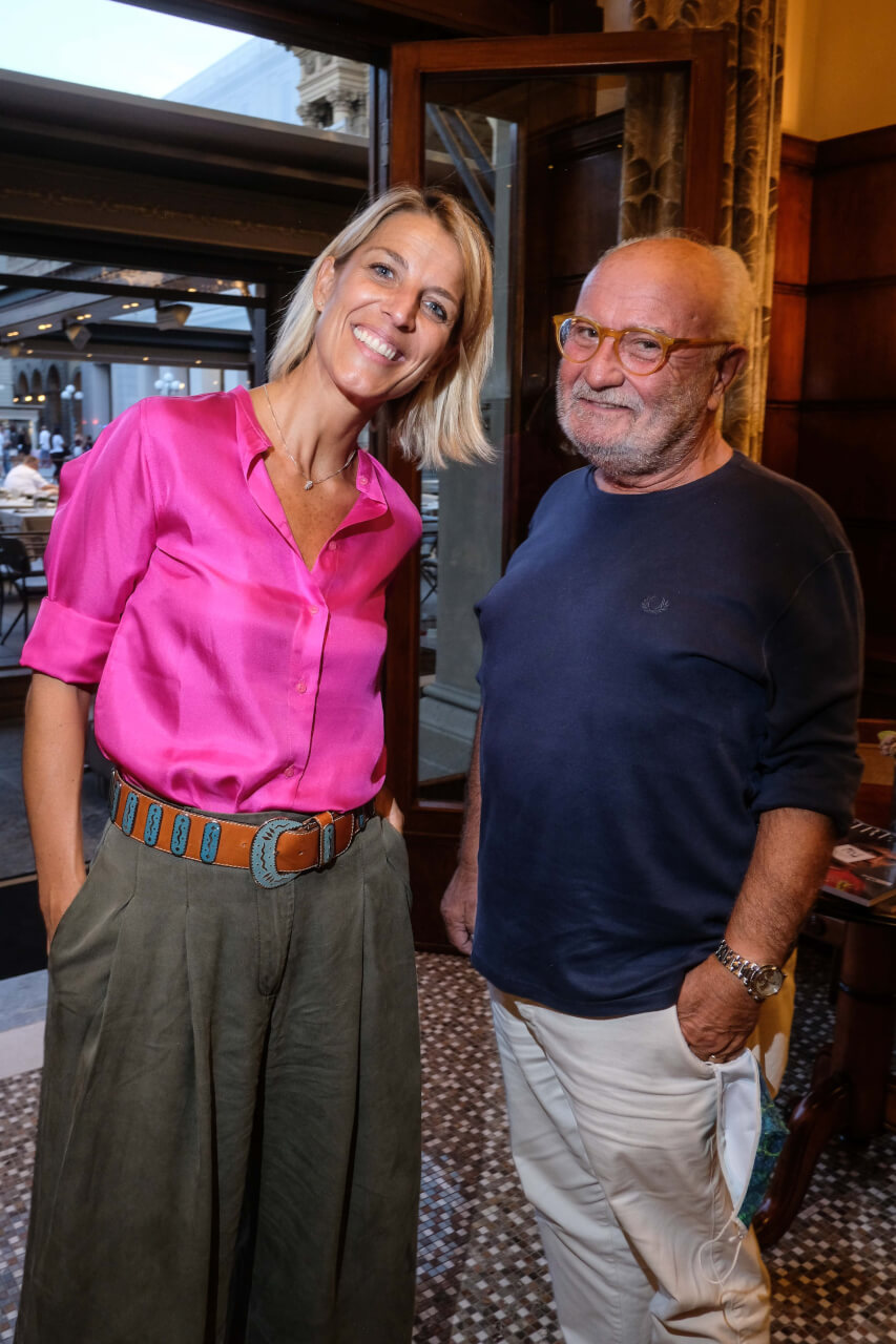 Giulia Dirindelli e Gianni Mercatali