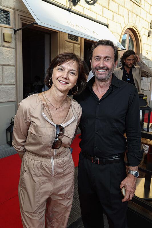 Cristina Billi, Stefano Del Corona