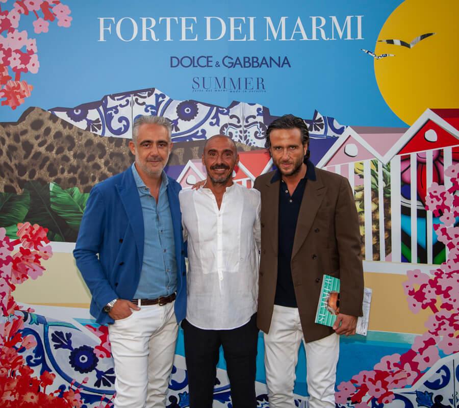 Matteo Parigi Bini, Salvatore Madonna, Alex Vittorio Lana