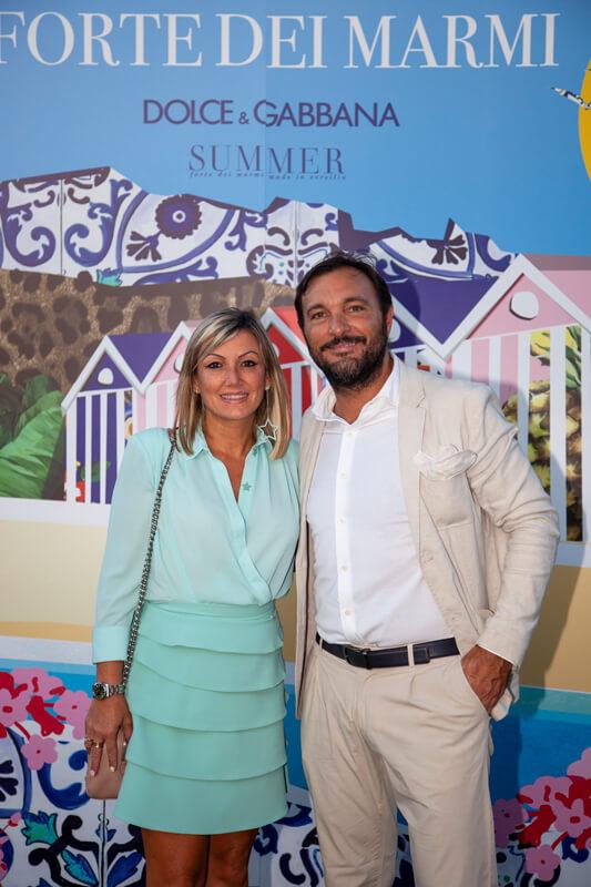 Cristiano and Natalia Savini