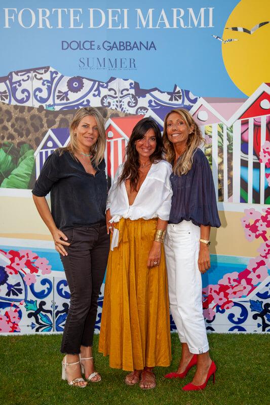 Cristina Manetti, Fabiana Taraschi, Corinne Miccinilli