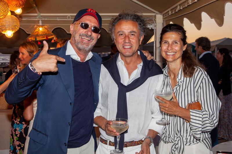 Fabrizio Caprotti, Felice Limosani, Doris Kovacs