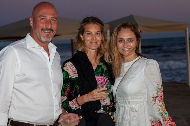 Bonaccorso Manetti, Ginevra Olivetti Rason Ruspoli, Benedetta Manetti