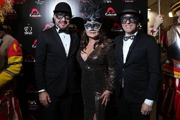 Aldo Boarietto, Maria Almira Mesquita, Bruno Mares