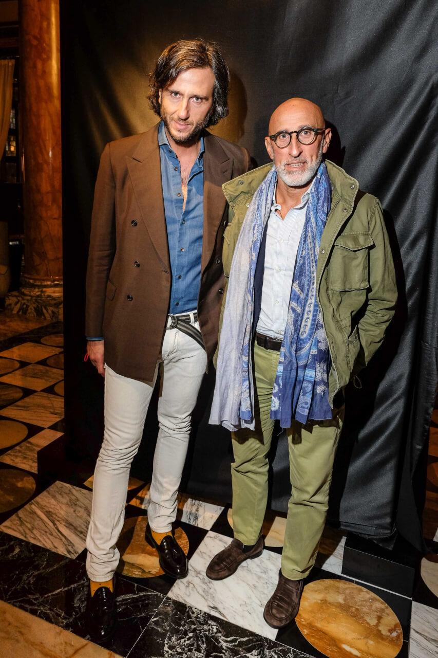 Alex Lana and Enrico Chiavacci