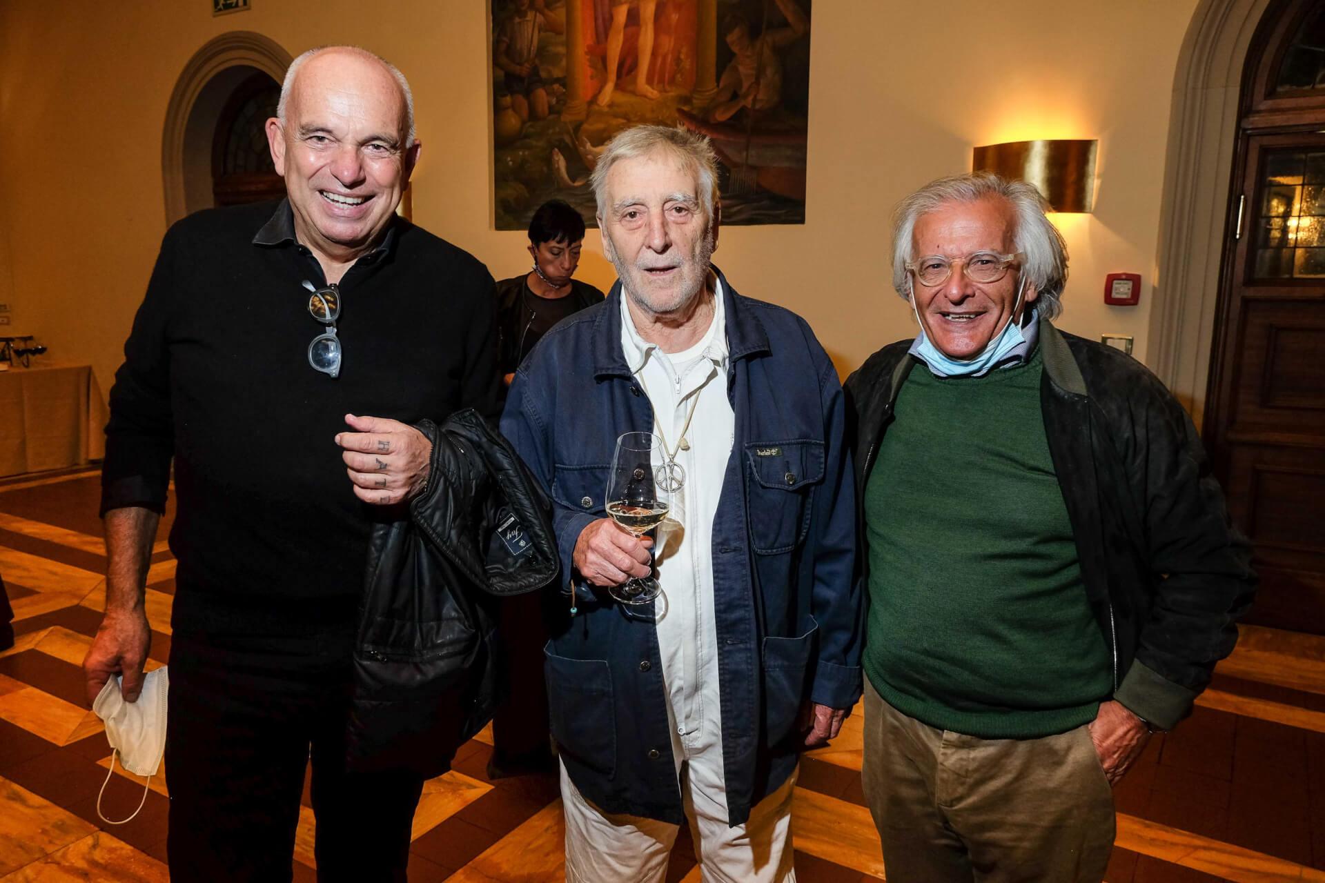 oGiovanni Raspini, Giancarlo Fulgenzi e Rodolfo Bertacca
