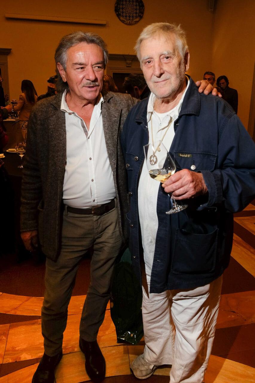 Rolando Betti and Giancarlo Fulgenzi