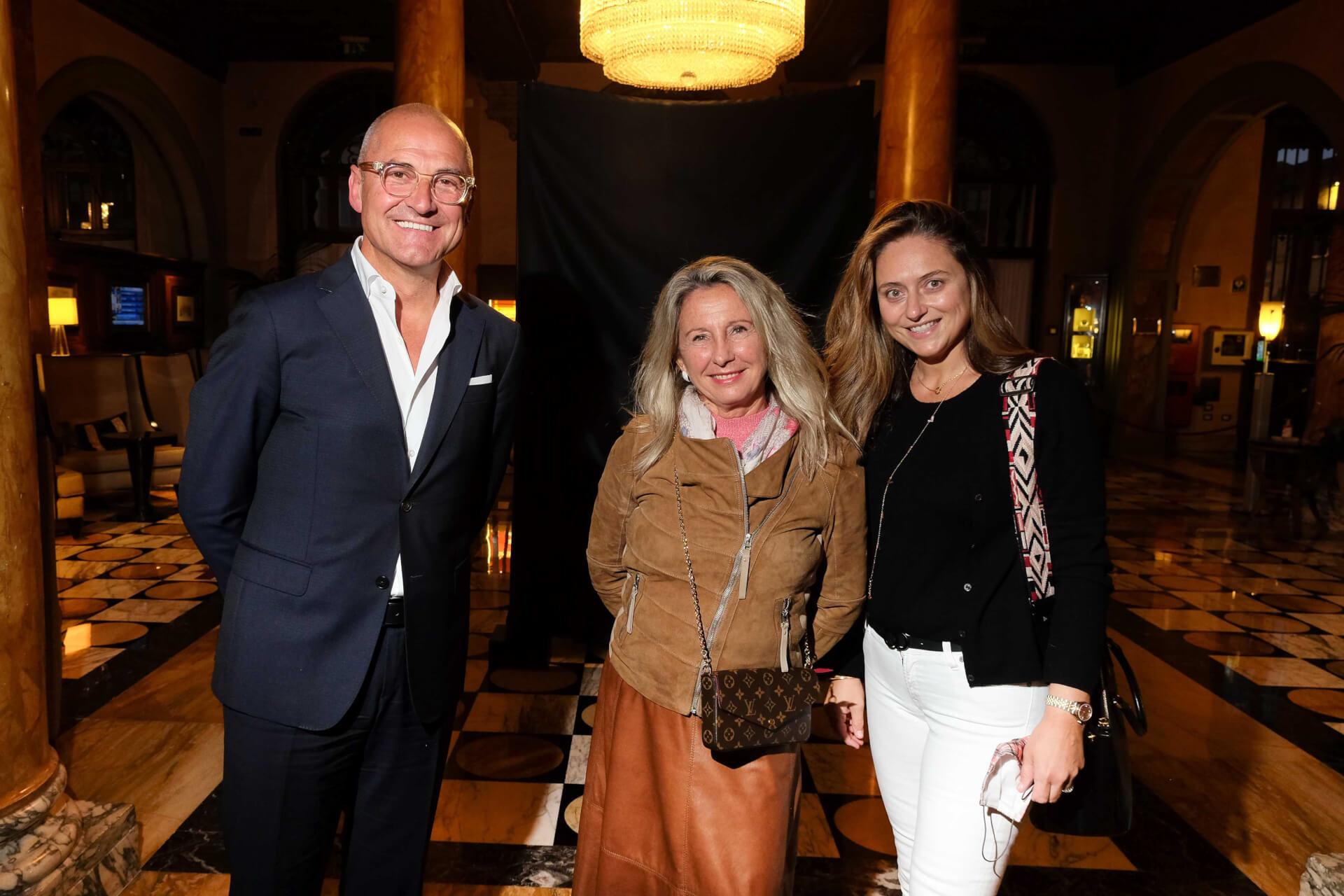 Domenico Colelli, Marinella Fani and Benedetta Manetti