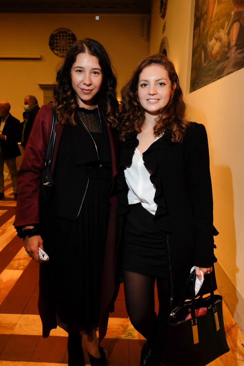 Francesca Bartoli and Ginevra Poli
