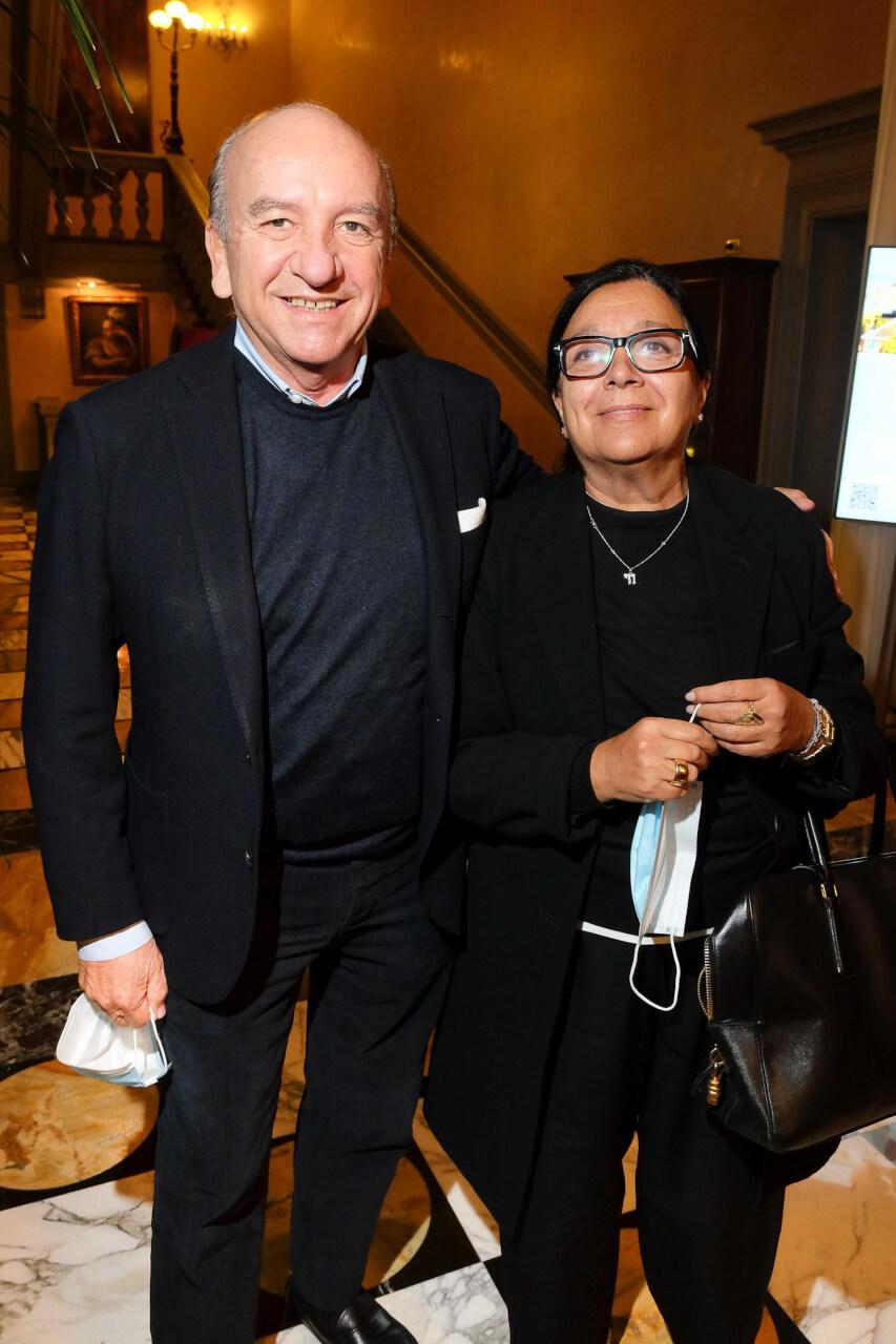 Maurizio e Sylvie Bonas