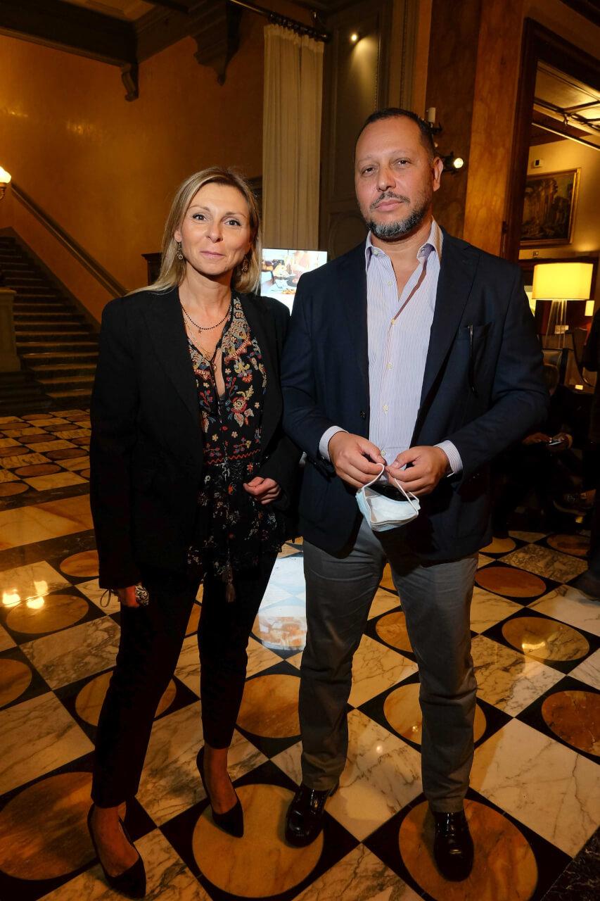 Claudia Gelosa and Gabriele Michelucci