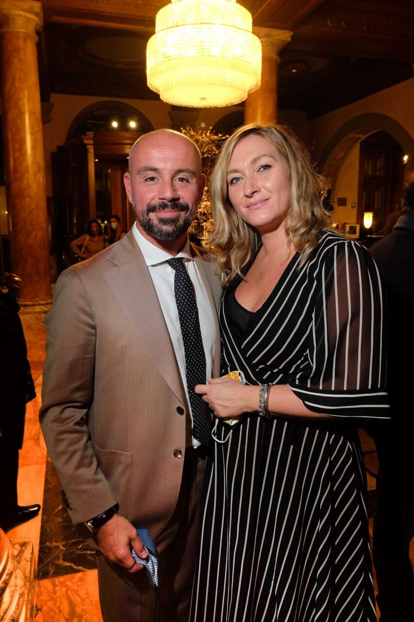 Giovanni Villoresi and Valeria Vicedomini