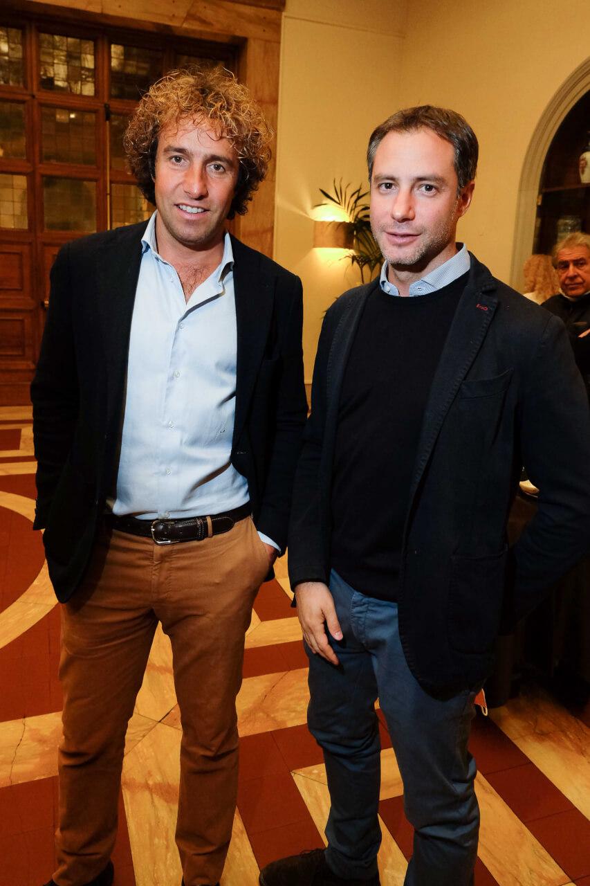 Leonardo Zorzet and Marco Cecchi