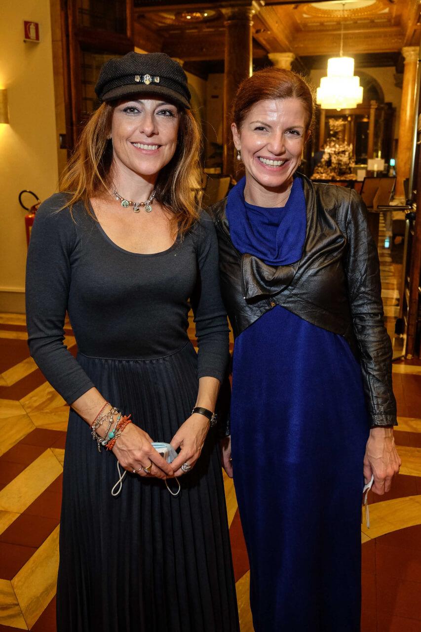 Mariangela Barbato and Elisa Biondi
